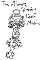 THE ULTIMATE SPINNING DEATH MACHINE by Lilac-DownDeep