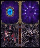 Mage Wars - Spell book sleeves - SET 9 by Deligaris