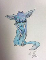 Glaceon by violencesummer