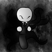 Creepypasta Chibi Series-Slenderman by xSkeletalRemainsx