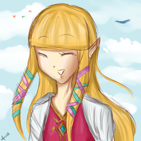 Princess Zelda - SKYWARD SWORD by AIRI-ON