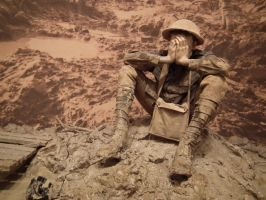 The stress of trench warfare by BrendanR85
