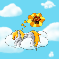 Dreaming of Muffins by crimsonblossom42
