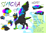 Simcha--Mascot Entry for #TheFantasyCorner by Gryphonwolf6274