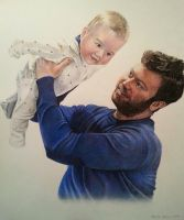 Father and Son by Bonniemarie