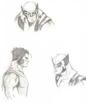 some wolvie sketches by mr-47ale