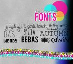 fonts:3 by Burbujiiz