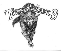 Timber Wolves by JGroeling