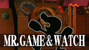 Mr. Game and Watch's Subspace Emmisary screen by dragonnjmb
