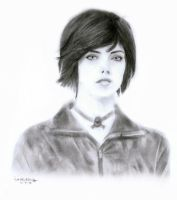 Alice Cullen Drawing by masochisticlove