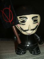 V for Vendetta Munny 3 by jrobbo