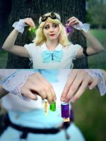 Steampunk Alice in Wonderland - 08 by bulleblue
