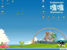Katamari Damacy Desktop by Queen-Of-Anime