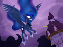 Screenshot Redraw - Luna Eclipsed by iRaincloud