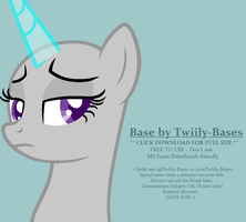 MLP Base 289 - I simply don't give a buck by Twiily-Bases