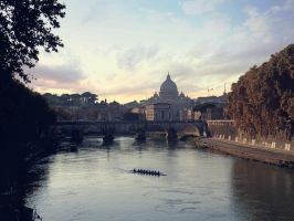 On an evening in Roma by marty-mclfy