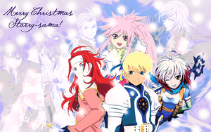Starry Chistmas Tales Wall by Rarutos