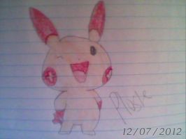 Plusle - Pokemon Ruby, Sapphire - Generation 3 by Sappires1001