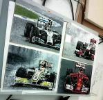 F1 cars by Galbatore