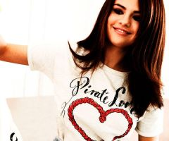 Selena Gomez Heart by Sweet-Tizdale