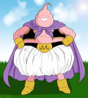 Fat Buu by Ryan-Ryan