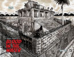 Zombie Years Issue 7 Page 2-3 SPREAD by FWACATA