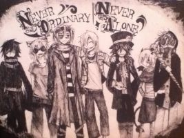 Never Ordinary, Never Alone by MadHatter-cat