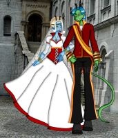 Royal Wedding by erin-hime