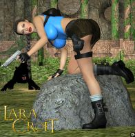 Lara Croft V by XSkullheadX