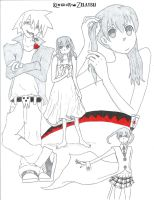 SOUL EATER manga::Bonus Sketch by KingdomZelaybli