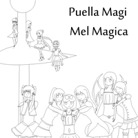 Puella Magi Mel Magica All magical girls by XDsymphony