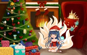 A LoL Christmas by oddish-enigma