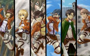 Attack on Titan by WhiteShiro1996