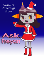 Season's Greetings from Ask Freyan by to-much-a-thing