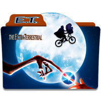 E. T. The Extra-Terrestrial Folder Icon by mikromike