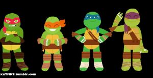 TMNT: DxxTMNT header by DeAnimeJ