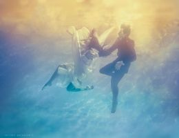 Wedding | Underwater II by Katkovskis