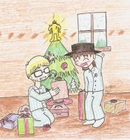 Christmas at Snowwood by Mister-Saturn