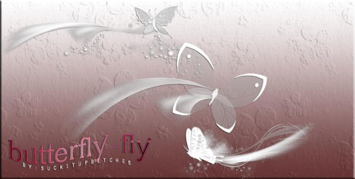 Brush Set O2 | Butterfly-fly by suckitupbetches