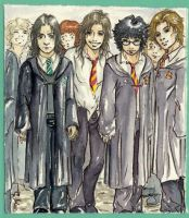 marauders and snape photo by Manechan