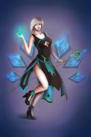 Gem Mage by Miyu-Yoru