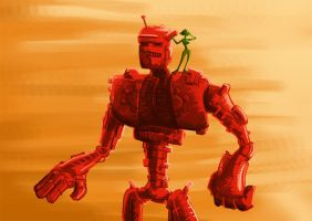 The Red Robot by Duffator