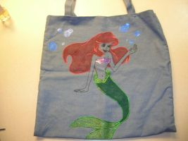 Ariel Tote Bag by LindyArt