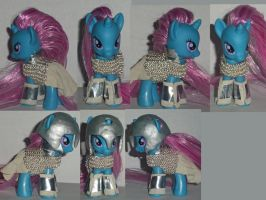 My Little Pony custom knight armor chain mail by Ember-lacewing
