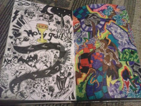 Diary Doodle: Holy Grail and other Stuff by AwesomePirate