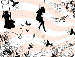 on_swing by lenileni