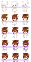 Chibi Color Walkthrough by Hatty-hime