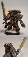 Space Wolves: Wolfslord Ragnar by TheBl4ckCat