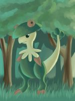 Breloom's Forest by SabrieI