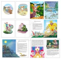Childrens Book Sample by defcon7a